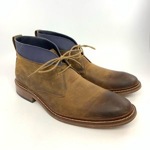 Cole Haan brown leather Chukka boots
